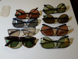 TAREXレンズのサングラス